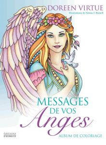 Messages de vos anges, album de coloriage