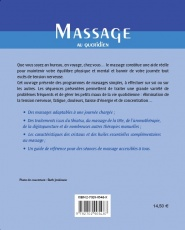 Massage au quotidien Dos