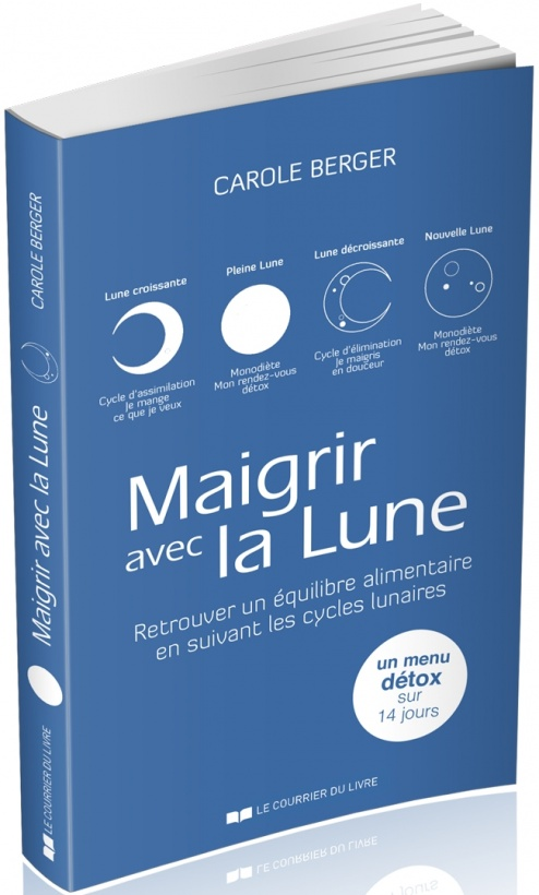 maigrir avec la lune carole berger. Black Bedroom Furniture Sets. Home Design Ideas