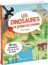 Les dinosaures en 3 minutes chrono Page