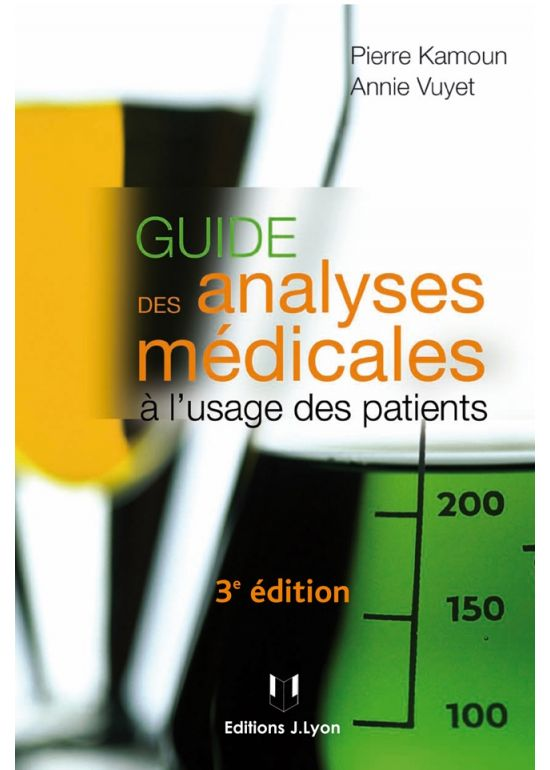 Guide des analyses médicales à l'usage des patients