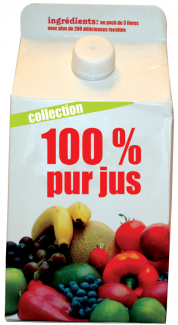 100 % pur jus - Fruits, Smoothie, Légumes
