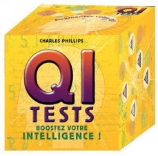 Q. I. Tests, boostez votre intelligence (Coffret)