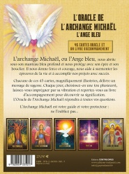 L'oracle de l'archange Michaël l'ange bleu (Coffret) Dos