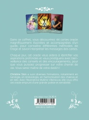 Oracle chemin de vie (Coffret) Dos