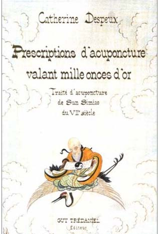 Prescriptions d'acuponcture valant mille onces d'or